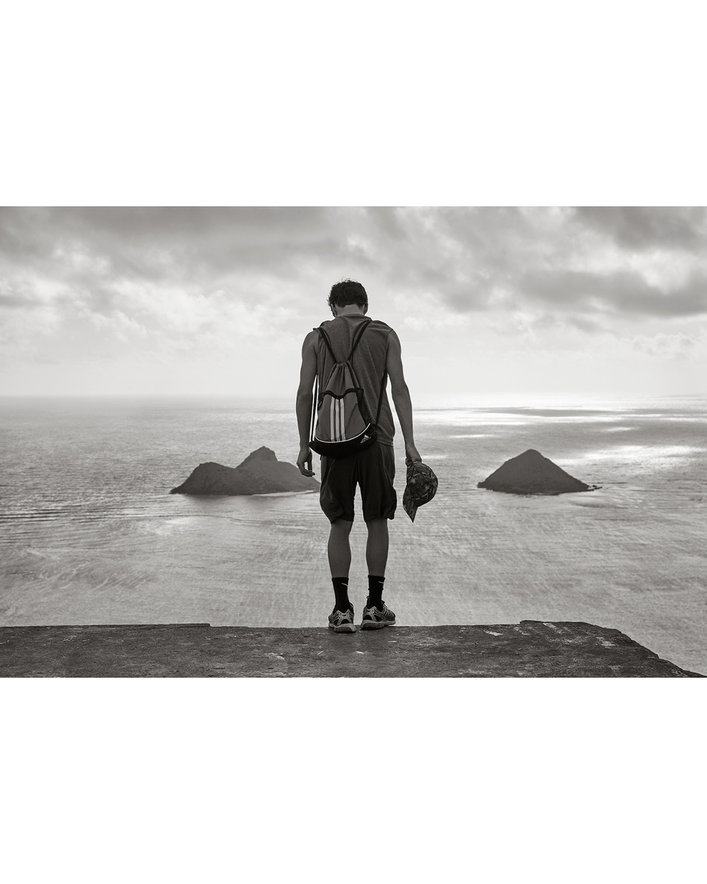 VIEW TOWARDS MOKU NUI AND MOKU IKI ISLANDS