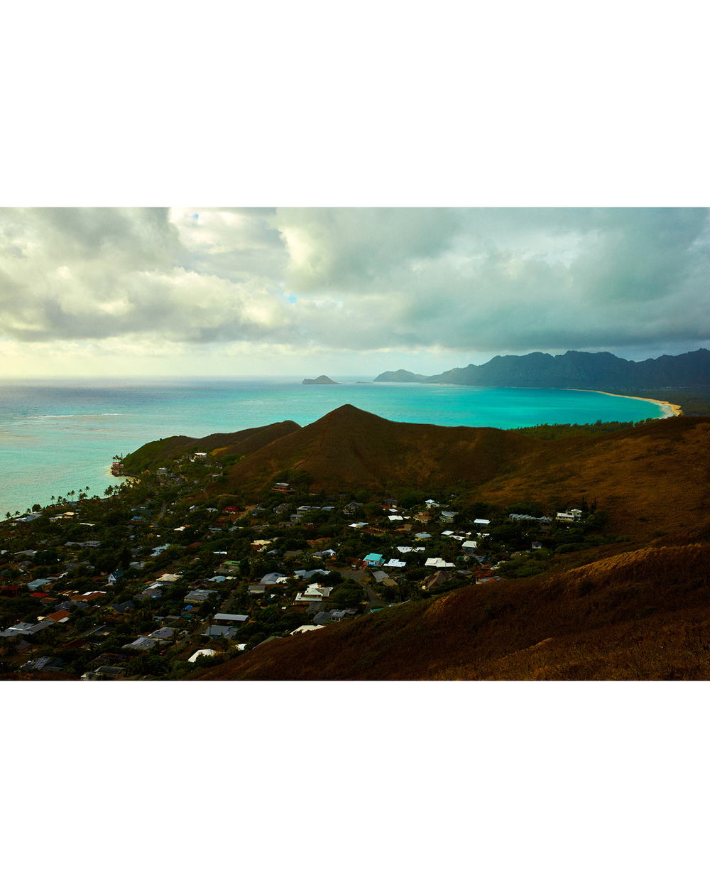VIEW TOWARDS WAIMANALO BEACH