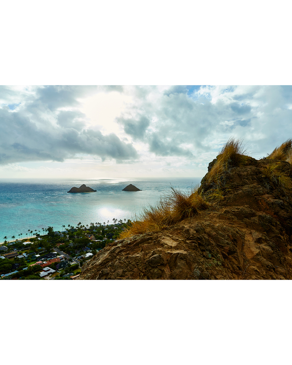 VIEW FROM THE PILLBOXES