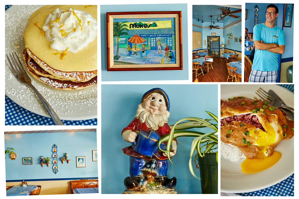 MOKE'S BREAD AND BREAKFAST - THE LILIKOI PANCAKES AND THE LOCO MOCO ARE TO DIE FOR