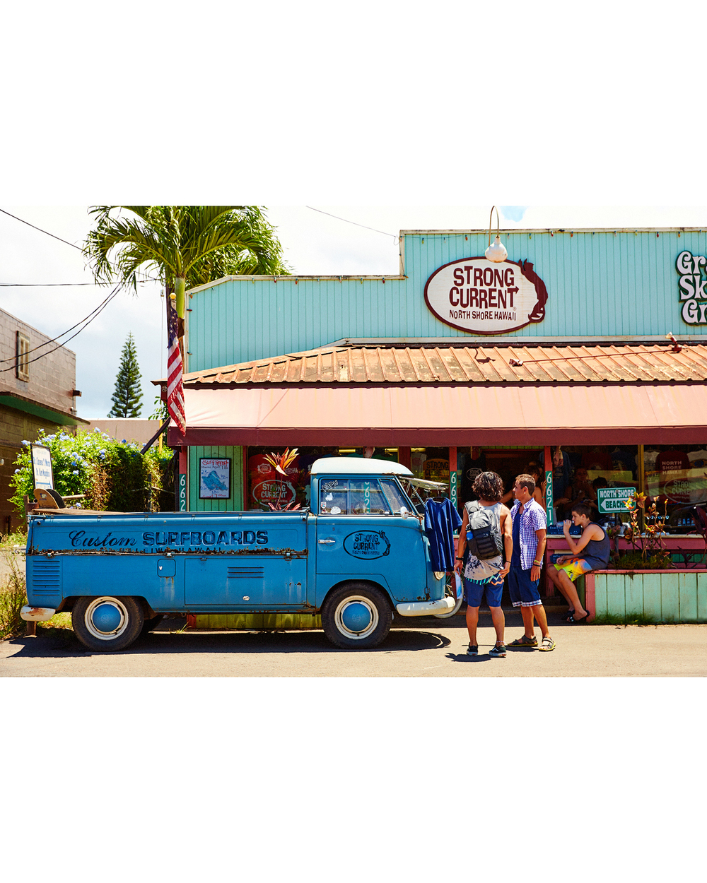 STRONG CURRENT SURF SHOP, HALE'IWA