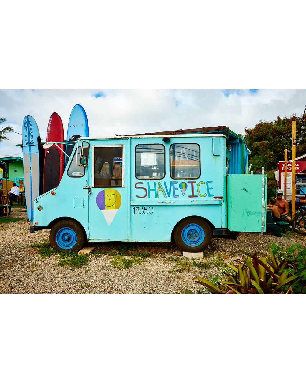 SHARKS COVE SHAVE ICE TRUCK