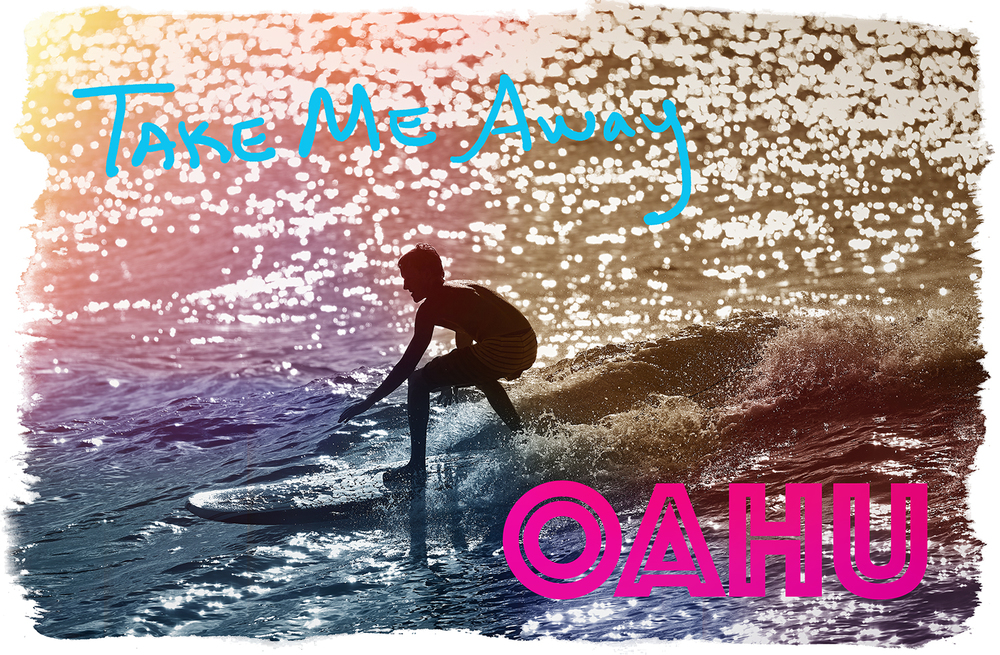 A POSTCARD TO REMIND US ALL OF WHAT LIFE COULD BE LIKE...