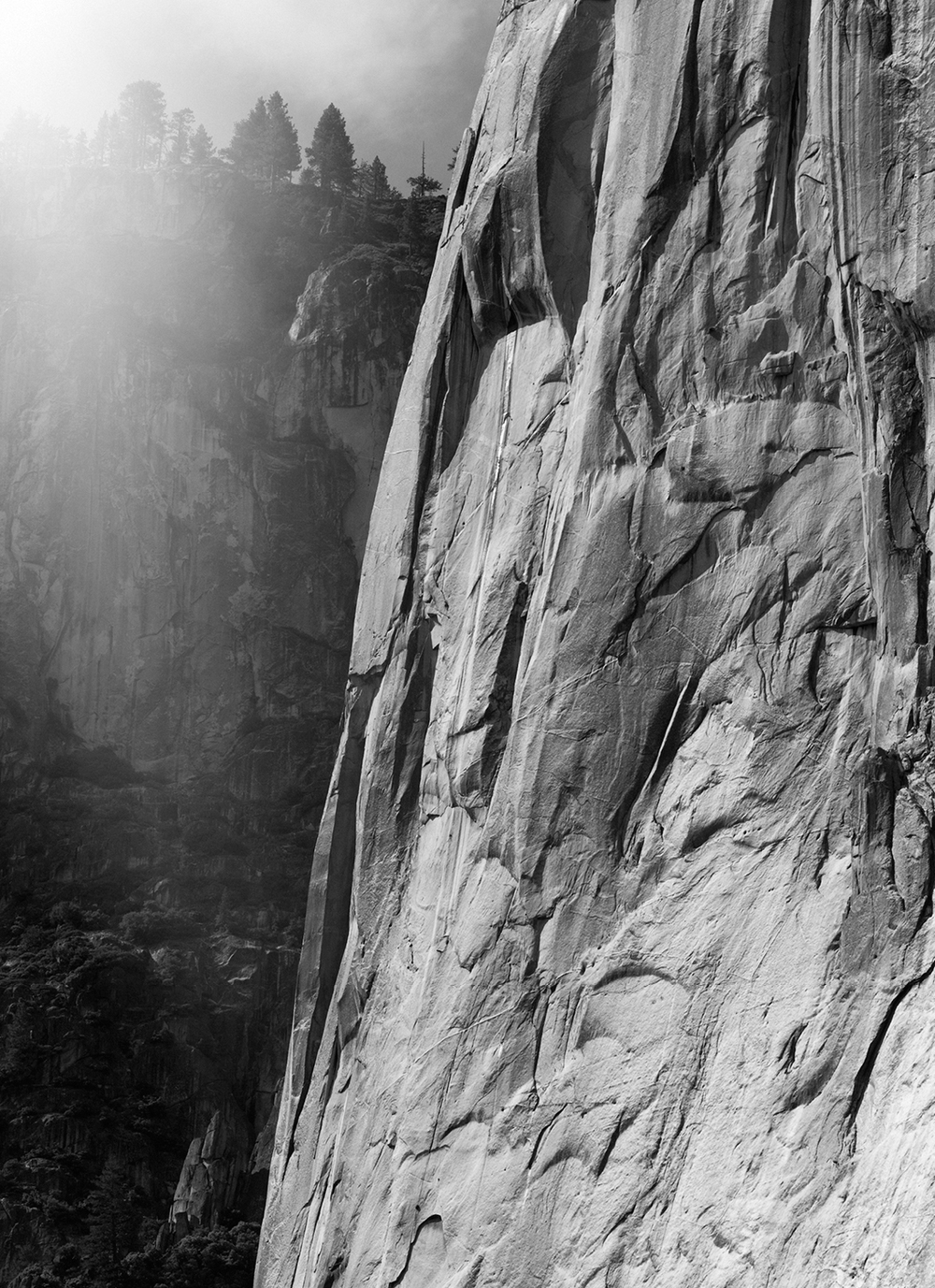 EL CAPITAN'S GRANITE WALL