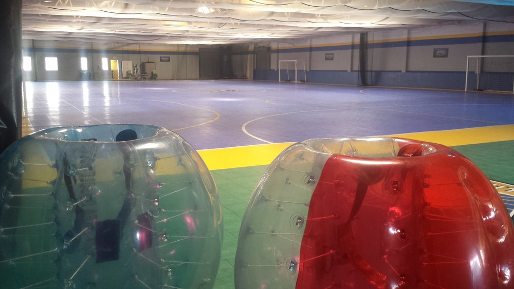 Indoor Bubble Soccer Rentals