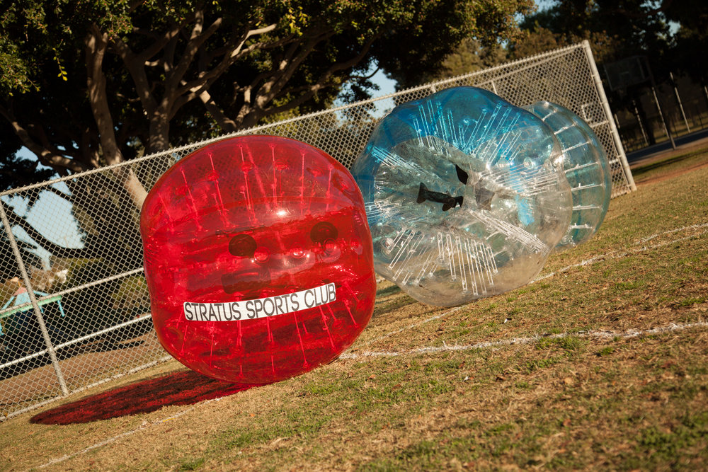 Bubble Soccer or Bumper Ball?