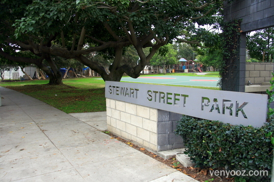 Welcome to beautiful Stewart Street Park