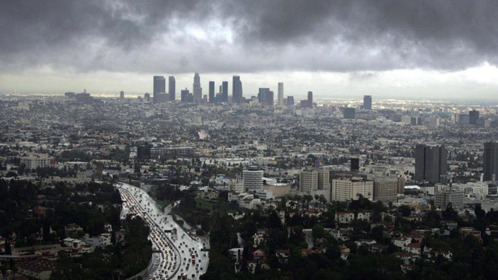 It's been a rainy winter in LA