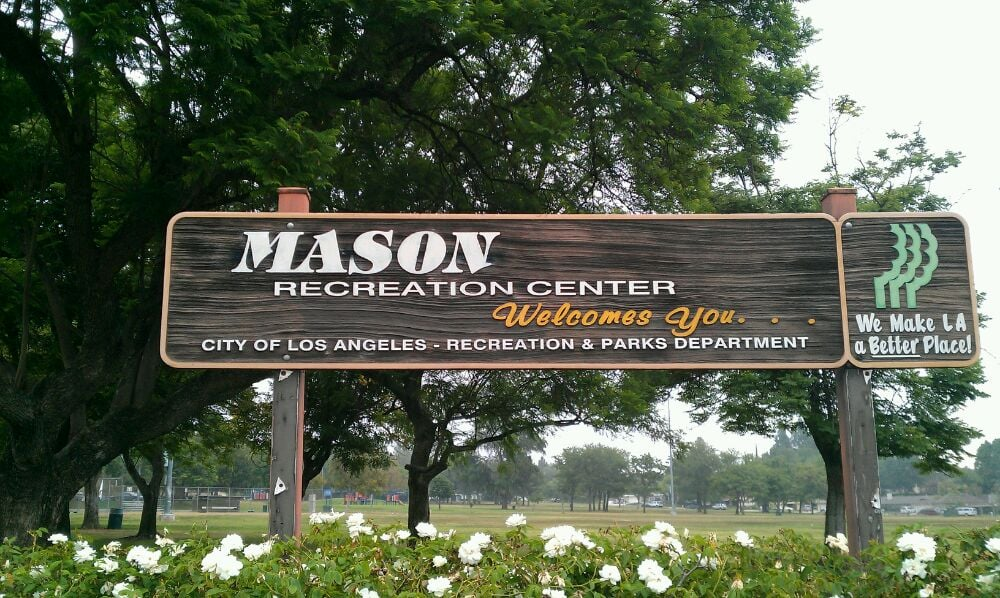 Mason Park Chatsworth Sign