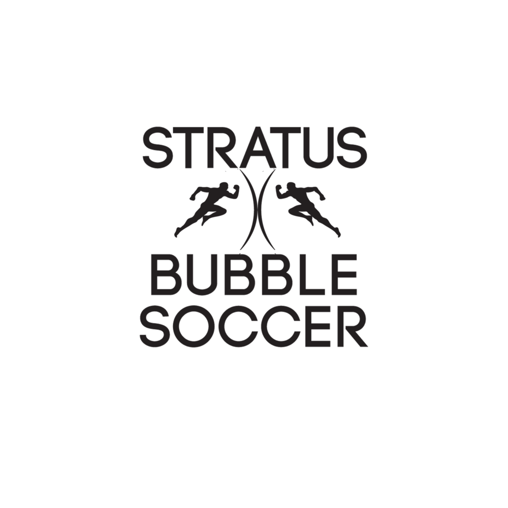 Stratus Bubble Soccer Logo