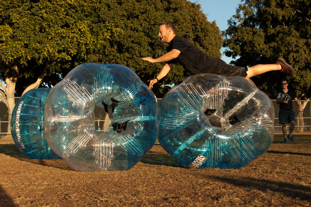 bubble soccer rolling out near you