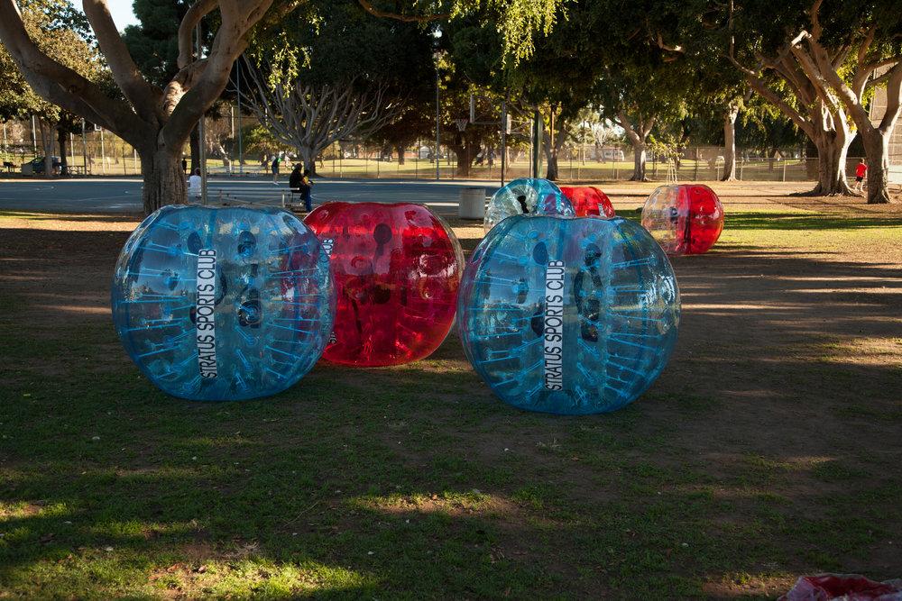 Stratus Bubble Soccer Rentals Redondo Beach park