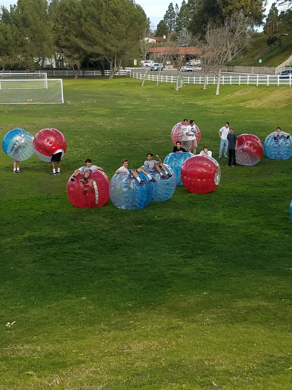 We're the bubble soccer company near me that will get your party started