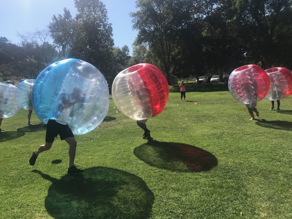Beginner's Guide to Bumper Balls in los Angeles players compete to win