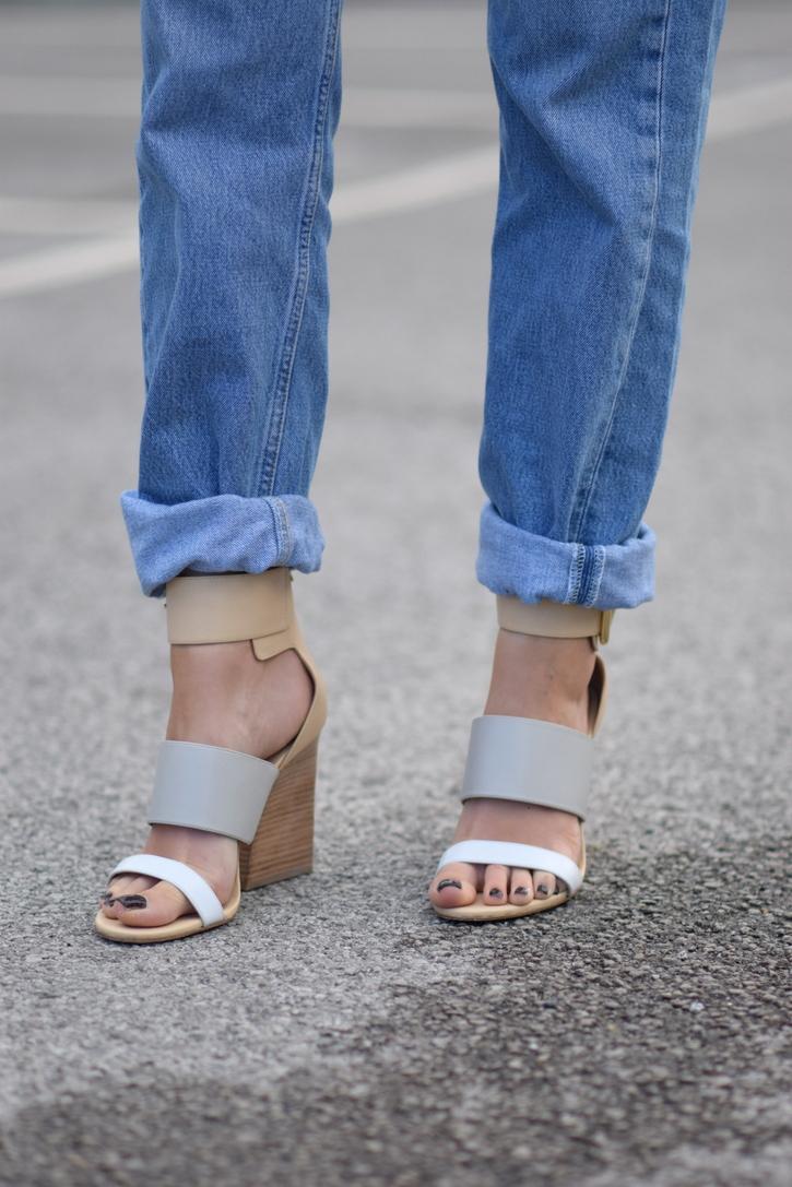 Sigerson Morrison nude heeled sandals