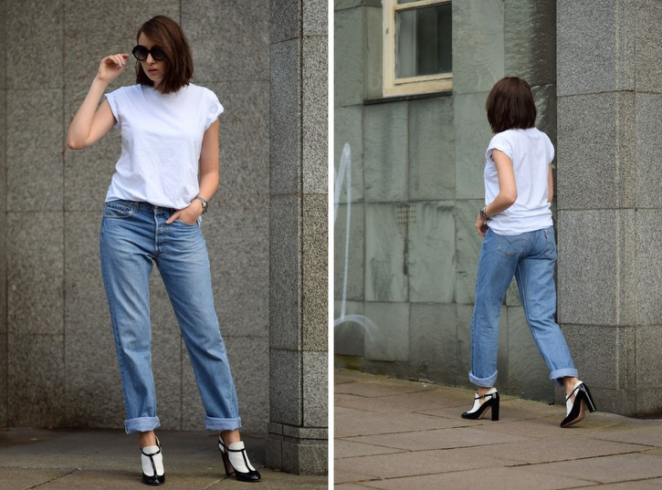 How to style vintage levi's 501s
