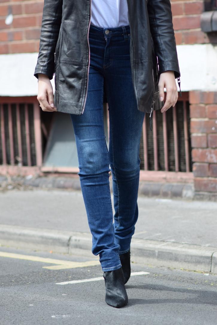 Acne Flex jeans, extra long leg length