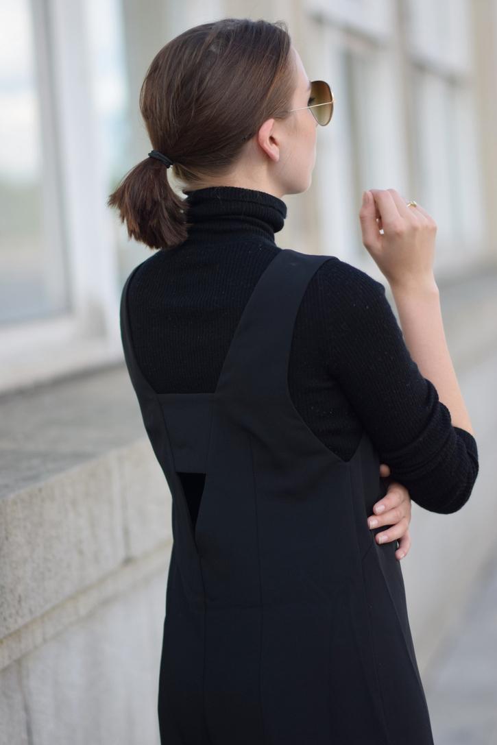 c/meo collective black jumpsuit