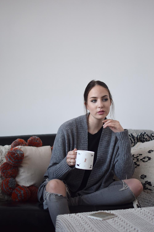 Inside a fashion bloggers home