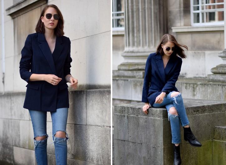 ASOS Farleigh Ripped jeans
