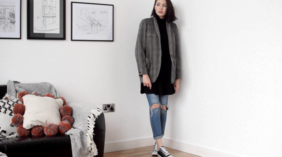ISABEL MARANT ÉTOILE Chuck herringbone wool jacket