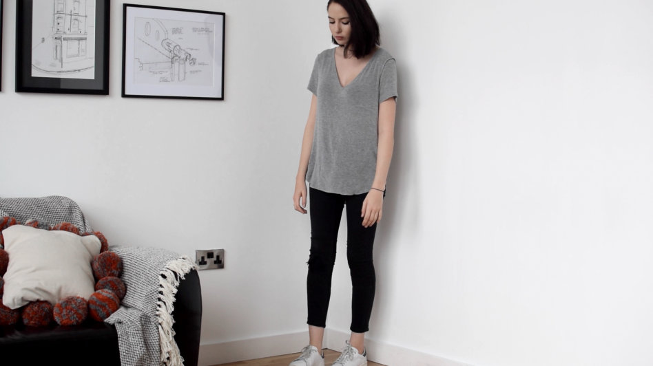ASOS Forever grey t shirt