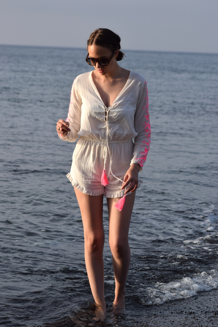 Pampelone playsuit, beach wear