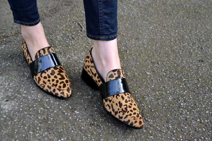 3.1 Phillip Lim leopard print loafers