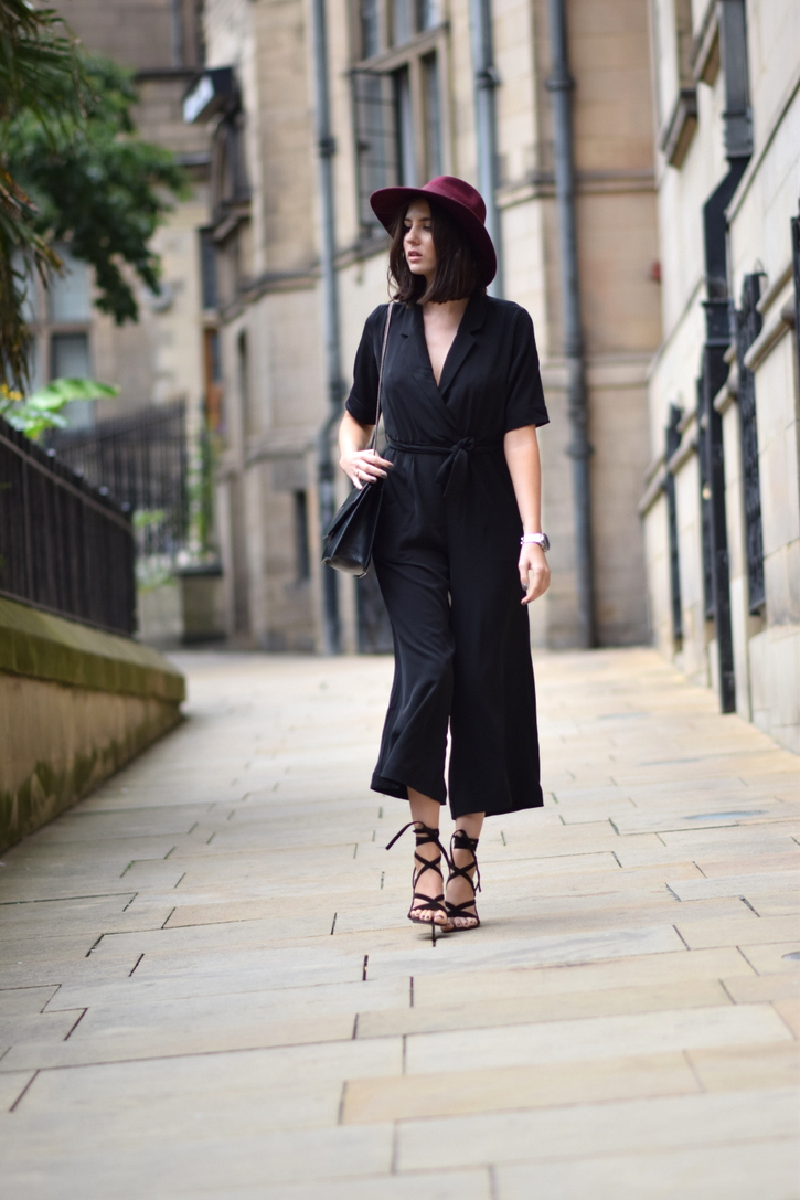 Weekday via ASOS Black jumpsuit