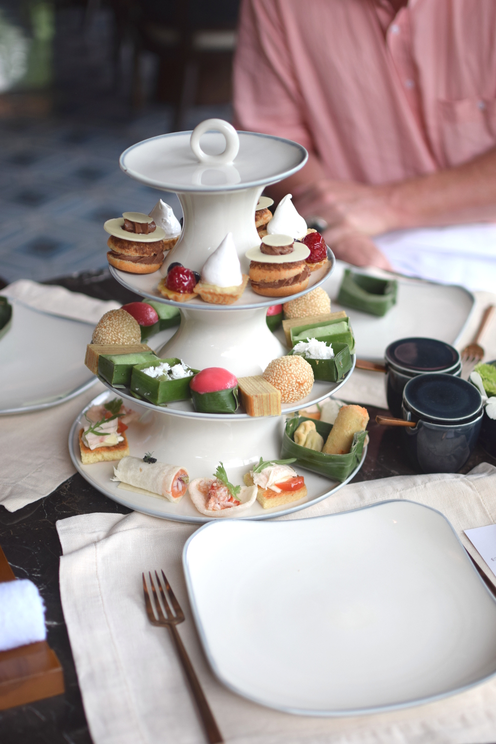 Bali ritz carlton afternoon tea review