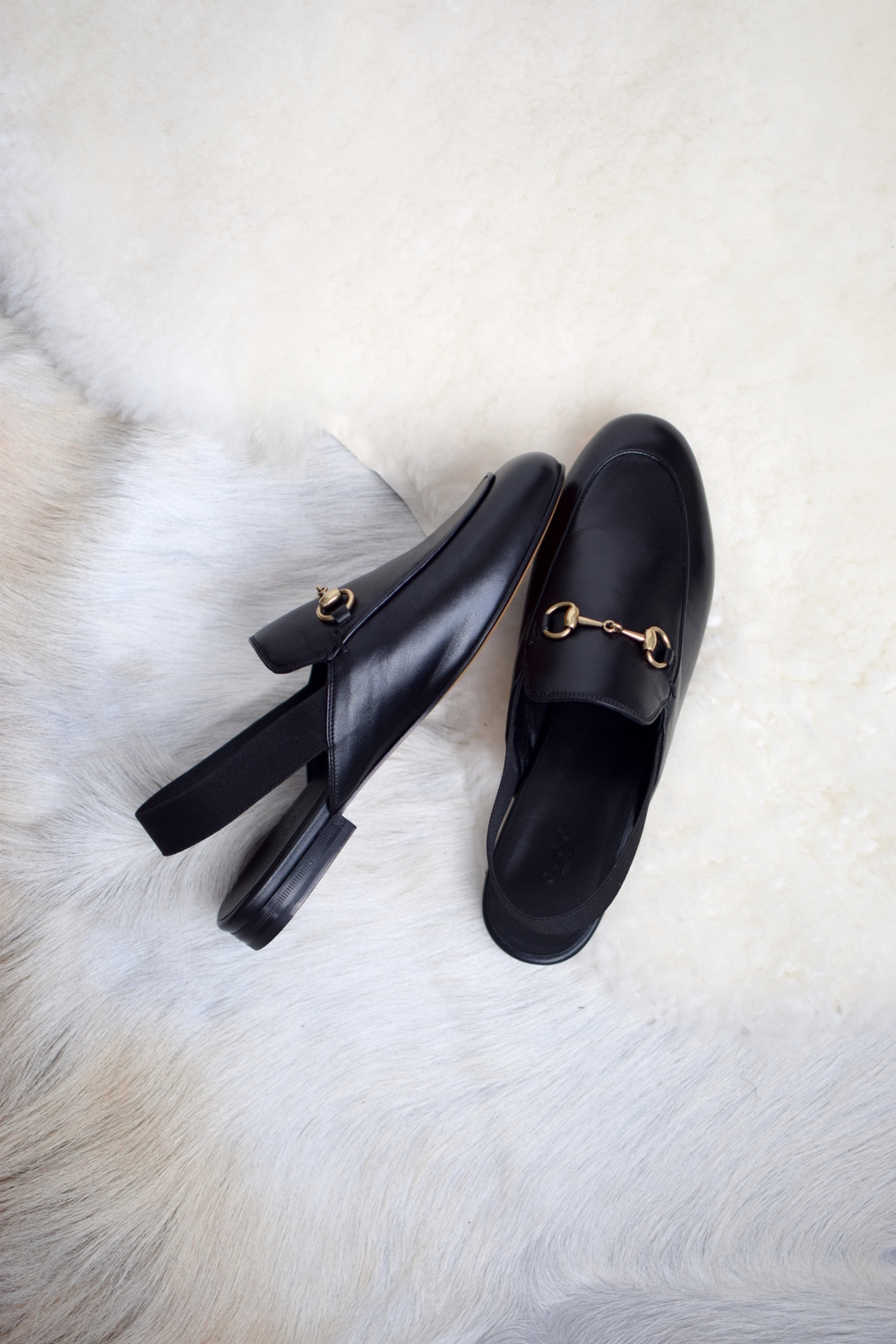 gucci sling back loafers for women