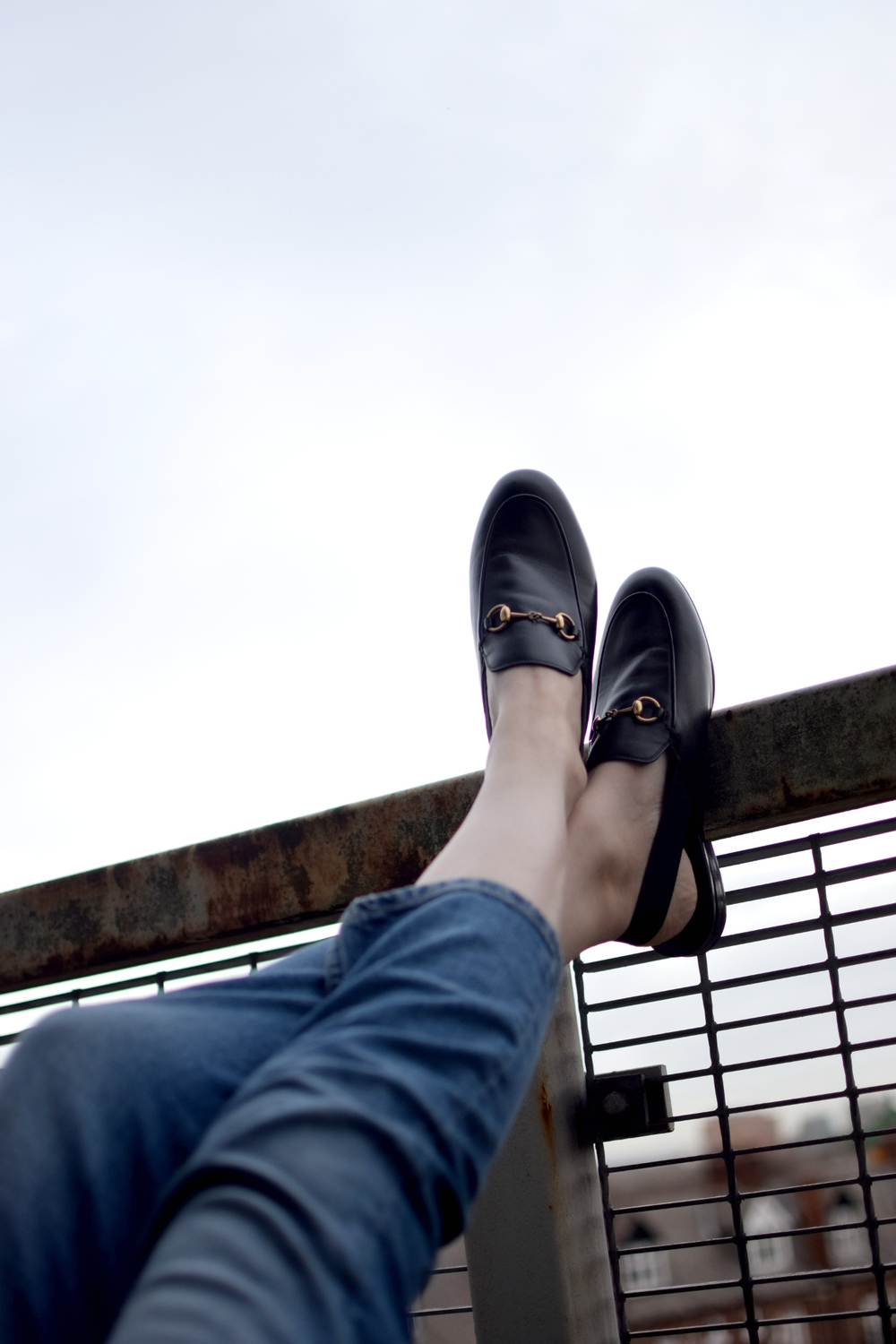 uk fashion blogger gucci horsebit loafers
