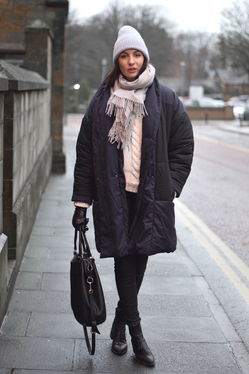 UK Fashion Blogger Shot From The Street