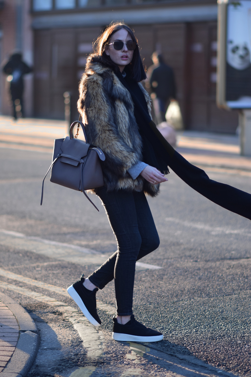 Shot From The Street Minimal Fashion Blogger