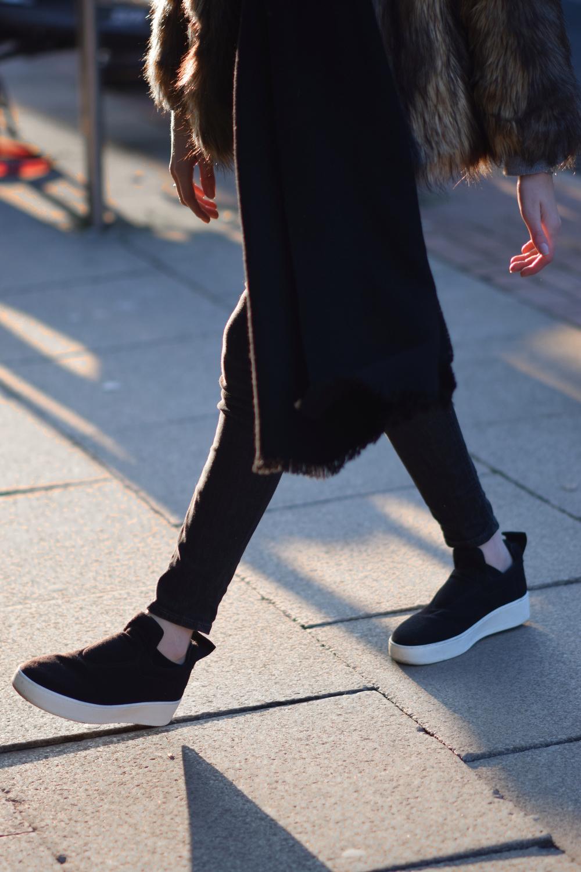 Celine Slip On Sneakers Fashion Blogger