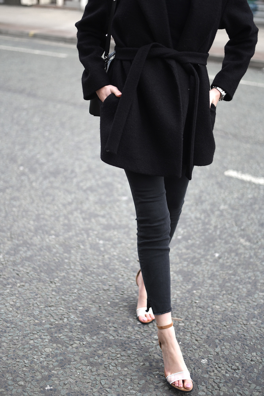 Minimal Fashion Blogger Shot From The Street