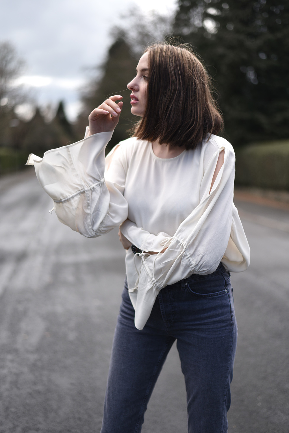 Weekday Blouse With Rope Sleeves