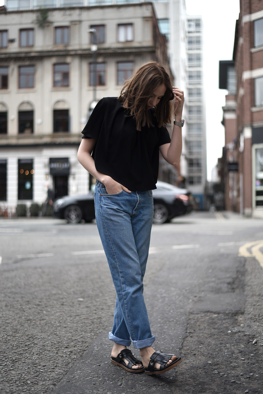Shot From The Street Minimal Style