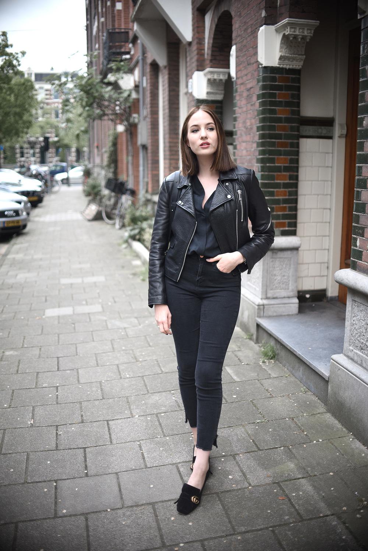 Leather jacket jigsaw - Look 2