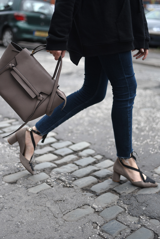 Celine Belt Bag Shot From The Street