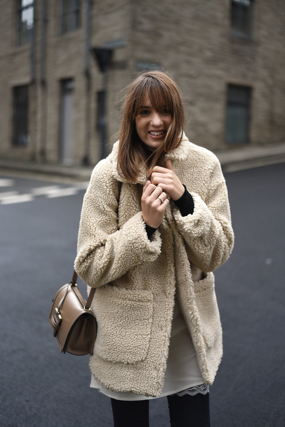 The Teddy Coat — SHOT FROM THE STREET