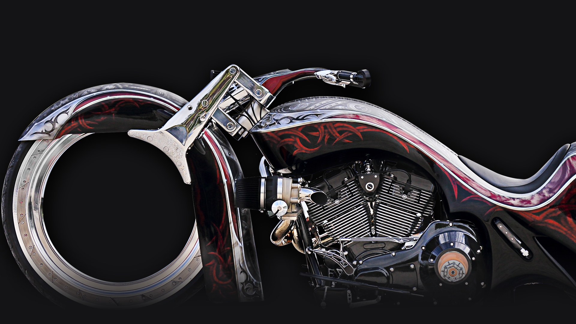 THE HIGHEST QUALITY CUSTOM BAGGERS PARTS