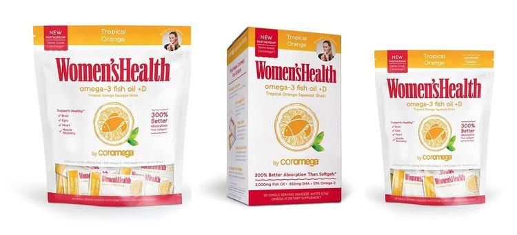 Coromega And Women S Health Magazine Partner On New Omega 3