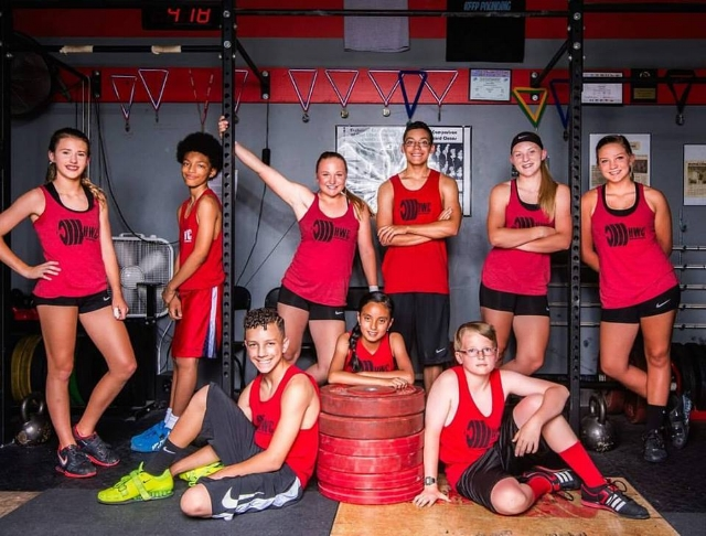 HWC Middle School and High School Lifters