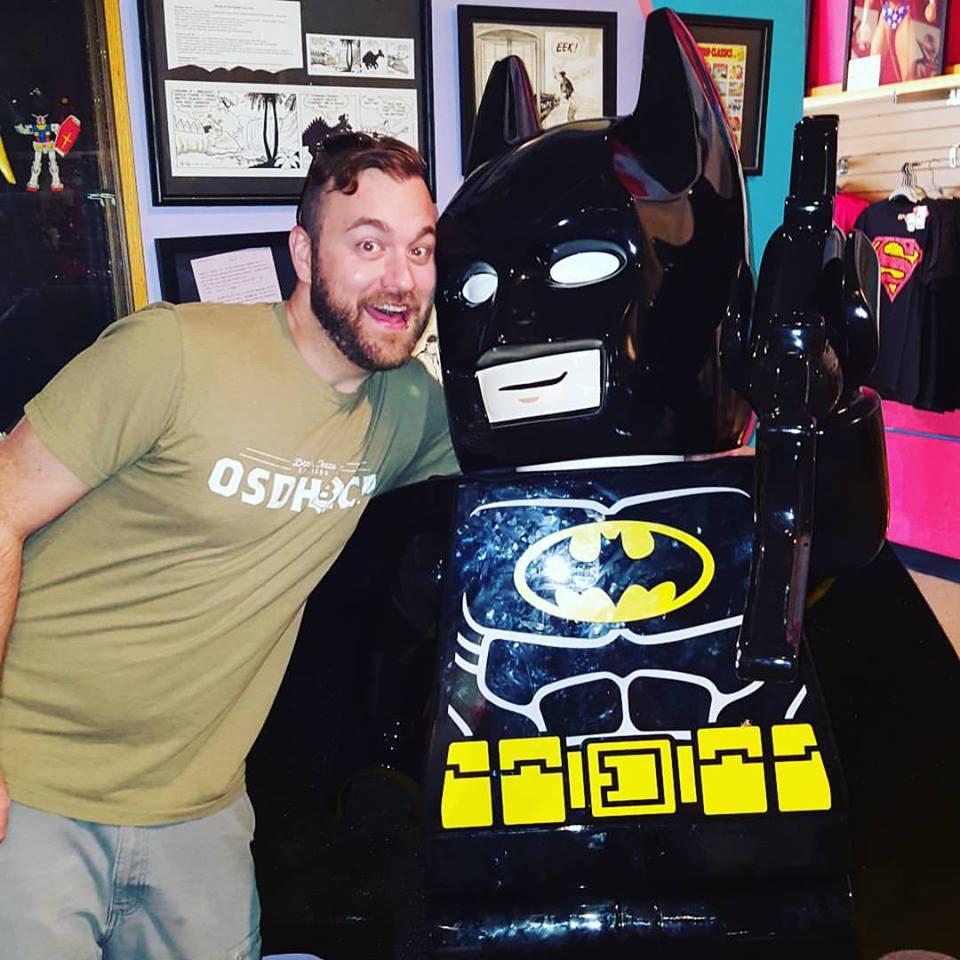 That time I met Batman