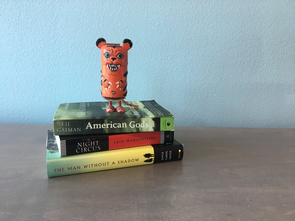 Swash the Can Bear is already digging in to his reading list.