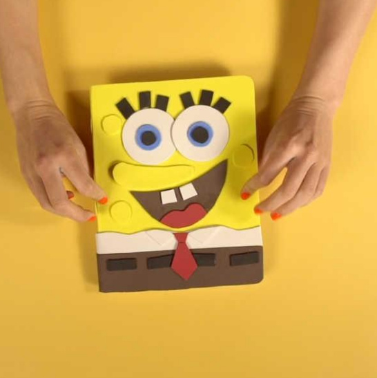 Spongebob Notebook - Click through to view video on Instagram