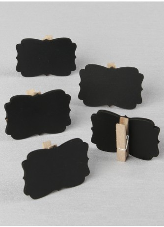 Decorative Chalkboard Clips