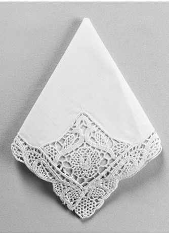 Handkerchief w/ embroidery