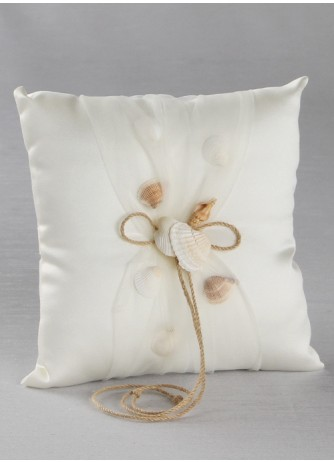 Beach Themed Ring Bearer Pillow